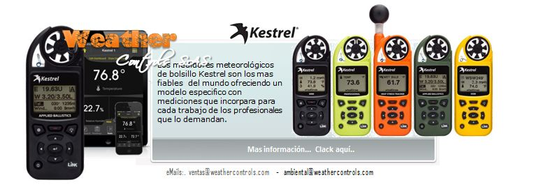 Kestrel Meters   Mini Estaciones Meteorologicas